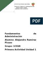 Escuelas de Pensamiento Administrativo y Su Relación Con El Ambiente Global