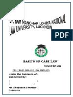 basics of case law subject