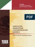 Conflictos juridicos