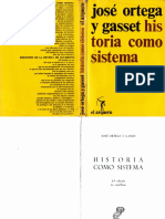 Historia Como Sistema