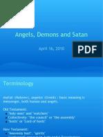 Angels Demons and Satan