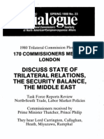 T23 - 1980 Trilateral Commission Plenary in London (1980)
