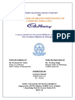 Cadbury - Marketing - Analysis of Brand Positioning.doc Gnit Nov 2012 (1)