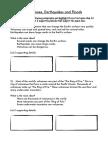 main idea activity pdf