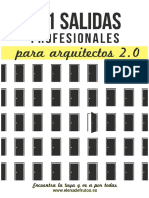 101 Salidas Profesionales Para Arquitectos 2.0