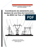 Proyecto Coordinación de aislamientos [Zona Tula-PZR2]