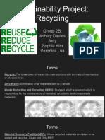 2b recycle presentation