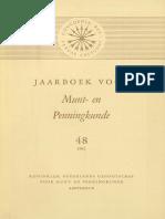 Waarom en wanneer zijn kloppen aangebracht op Engelse en Nederlandse nobels en rozenobels? / door G. van der Meer