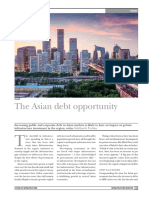 The Asian Debt Opportunity (Infrastructure Investor, December 2015)