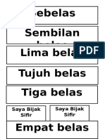 Label Belas