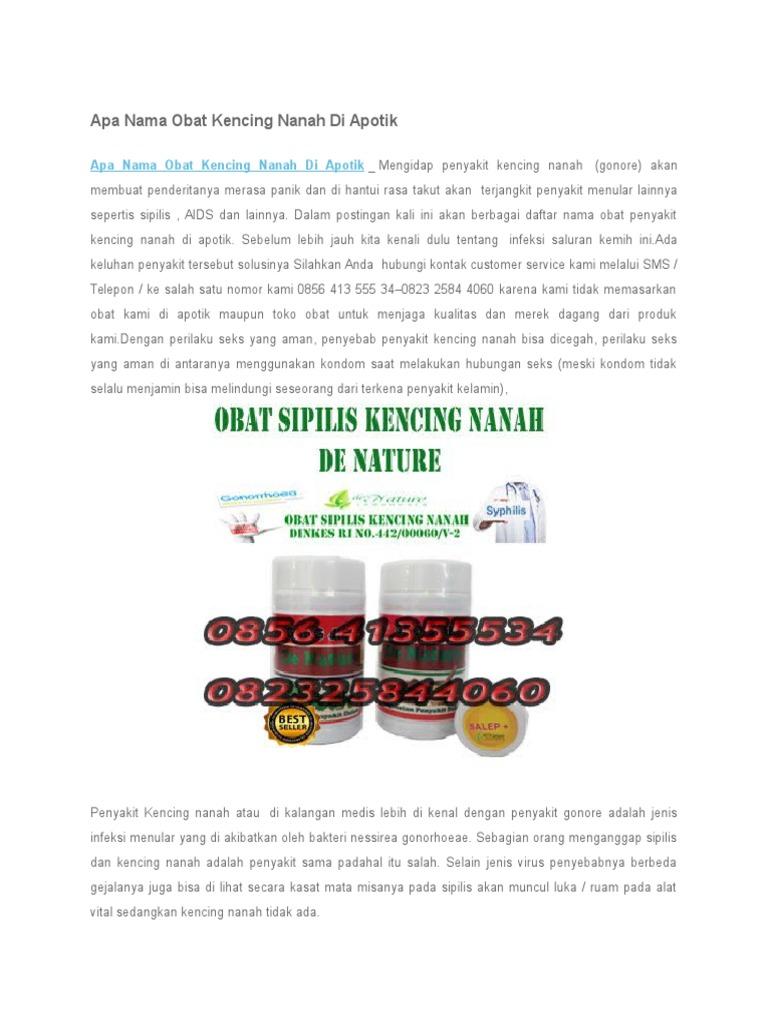 Apa Nama Obat Kencing Nanah Di Apotik Spelis 1534305243v1