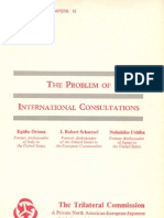 12 - The Problem of International Consultations (1976)