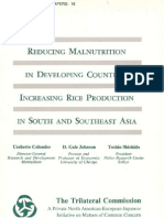 16 - Reducing Malnutrition in Developing Countries - Increasing Rice Production in South and Southeast Asia (1978)