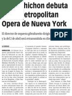 160227 La Verdad CG- Karel Chichon Debuta en La Metropolitan Opera de Nueva York p.10