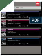Classic Archive - Catalogue