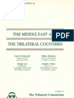 22 - The Middle East and the Trilateral Countries (1981)