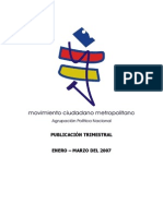 La participación de los mass media en la elección presidencial del 2006