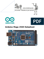 Arduino Mega 2560 Data Sheet
