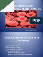 Atlas Alteraciones Morfológicas de Los Hematies