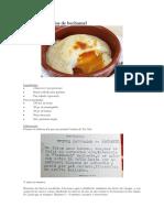 Huevos Saturados de Bechamel