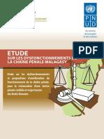 Etude sur les dysfonctionnements de la chaîne pénale malagasy
