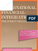 37 - International Financial Integration - The Policy Challenges (1989)