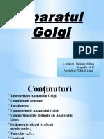 Aparatul Golgi Galina