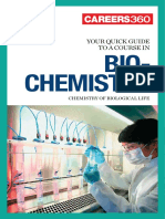 Careers360 Quick Guide to Biochemistry