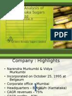 Group 9 - Financial Analysis of Shree Renuka Sugars (1)