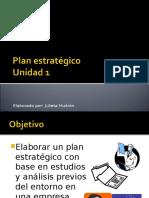 Unidad 1 PNI Plan Estratégico