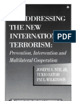 56 - Addressing the New International Terrorism - Prevention, Intervention and Multilateral Cooperation (2003)