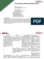 PCA 2016-Plan de Fortalecimiento de Educación Física y Deporte Escolar 2015