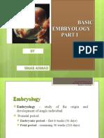 Basic Embryology PART I