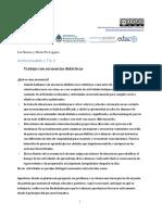 EDUCACION Y TICs- Secuencia Didáctica