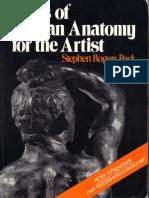 Anatomy Books For Artists Pdf
