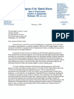 Culberson Letter to Attorney General Lynch