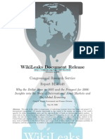 CRS - RL33448 - Why the Dollar Rose in 2005 and the Prospect for 2006
