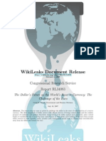 CRS - RL34083 - The Dollar's Future as the World's Reserve Currency