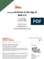 Geert Lovink - Netzkulturen und Gegenöffentlichkeit
