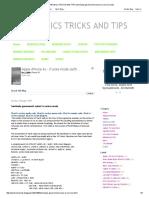 ELECTRONICS TRICKS and TIPS_ Tamilnadu Government Colour Tv Service Mode