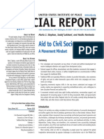 Aid to Civil Society a Movement Mindset