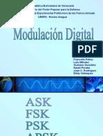 Exposición Modulación Digital. Grupo 4