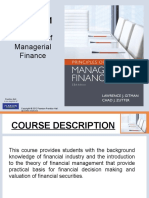 Managerial Finance Chapter 1 (an Overview)