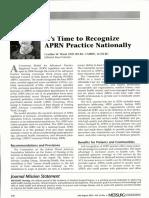 Recognize APRNs