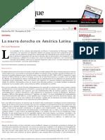 El Dipló _ La Nueva Derecha en América Latina