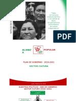 Plan Cultura de la Alianza Popular
