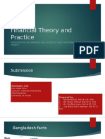 Financial Theory and Practice