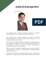 4. Reivindicacion de La Prospectiva Politica (Gemi José González)