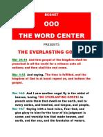EVERLASTING GOSPELS audiobooks