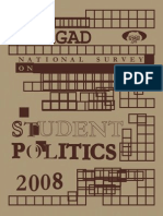 National Survey on Student Politics, 2008